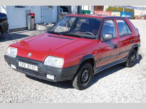 Škoda Favorit hatchback 43kW benzin 199209